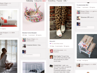 Pinterest on Android phone