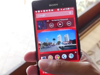 XPERIA Z3 touch screen