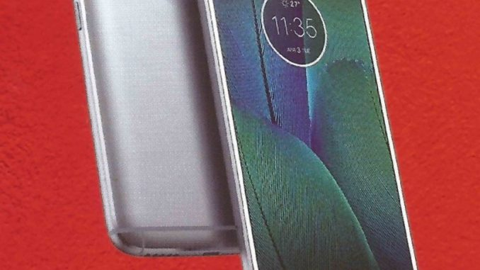 Moto G5S Plus leaked Scanned Image