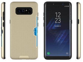 Samsung Galaxy Note 8 in Protective Case