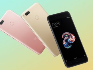 Xiaomi Mi 5X Color Variants
