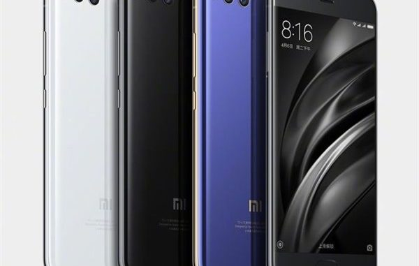 Xiaomi Mi 6 Color Variant